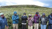 Chilly Tourists, Bridges Island, Beagle Channel Cruise