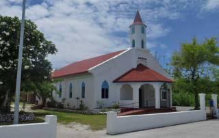 Church, Main Street, Rotoava, Fakarava Shore Excursion