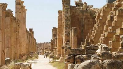 Colonnaded Street, Cardo Maximus, Visit Jerash