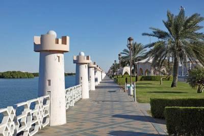 Visit Abu Dhabie, Corniche promenade