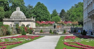 Danube River Cruise, Salzburg, Mirabell Palace