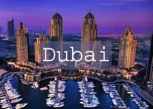 Dubai Marina Title Page