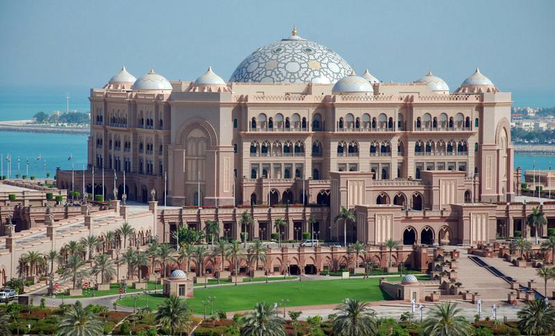 Emirates Palace Hotel, Visit Abu Dhabi