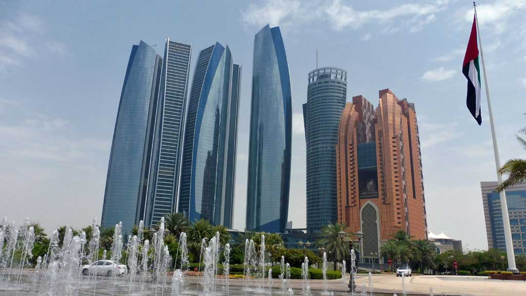 Emirates Visit, Etihad Towers, Abu Dhabi