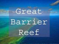 Great Barrier Reef Title Page