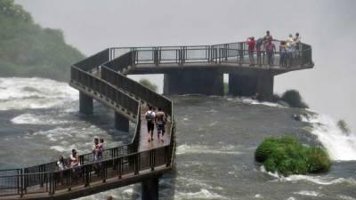 Viewing Platform, Iguaçu Falls Brazil Visit