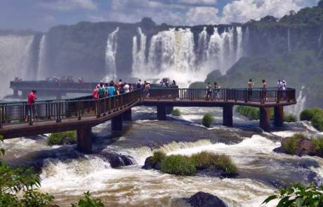 Viewing Platform, Brazil Side, Iguaçu Falls Brazil Visit
