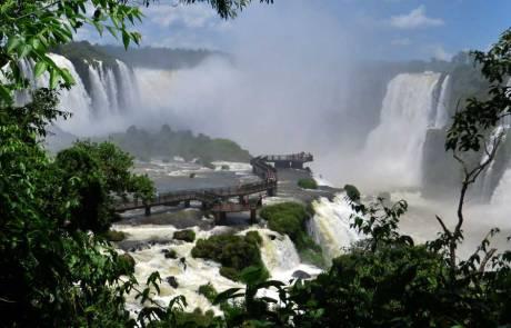 Iguaçu Falls Brazil Visit, Viewing Platform