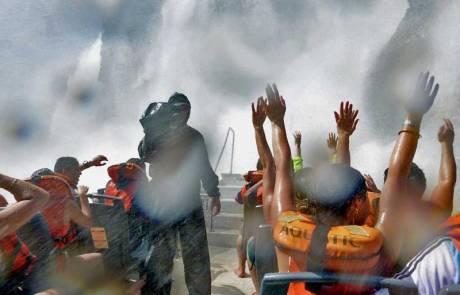 Iguazú Falls Argentina Visit, River Cruise, The Baptism