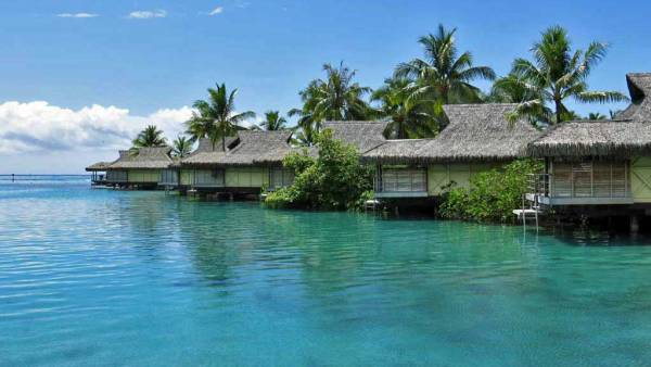 InterContinental Moorea Review, Overwater Bungalows