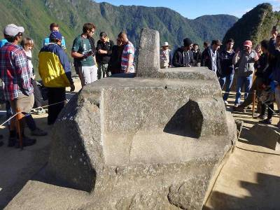 Intihuatana, Hitching Post of the Sun, Visit Machu Picchu