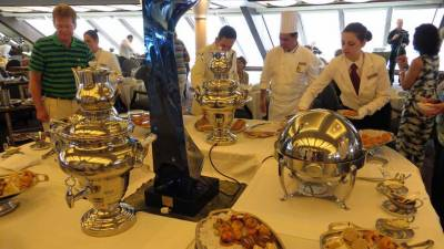 Oceania Marina Review, Afternoon Tea