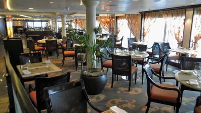 Oceania Marina Review, Terrace Cafe