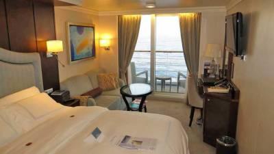 Oceania Marina Review, Veranda Stateroom