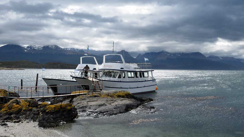 Patagonia Adventure Explorer Boat, Bridges Island