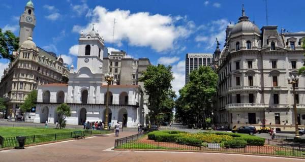 Plaza de Mayo, Buenos Aires Shore Excursion