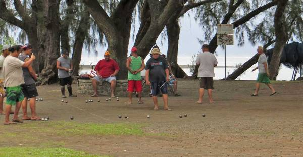 Point Venus Lawn Bowling, Tahiti Circle Island Tour