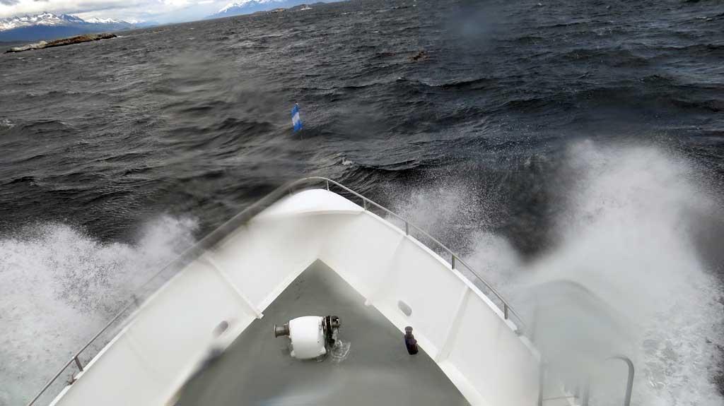 Prepare for Rough Seas, Beagle Channel Cruise