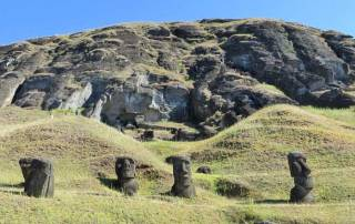 Quarry, Rano Raraku, Easter Island Shore Excursion