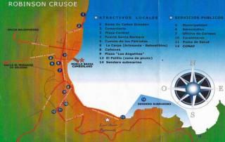 Robinson Crusoe Map