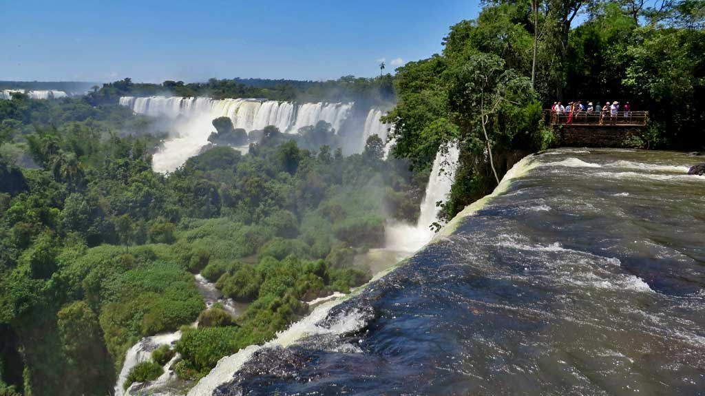 Salto Bossetti Viewpoint , Iguazú Falls Argentina Visit