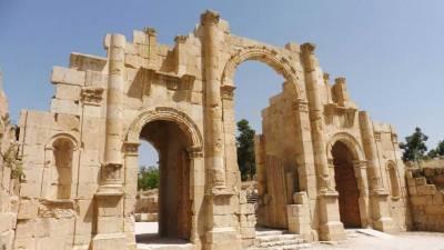 South Gate, Visit Jerash