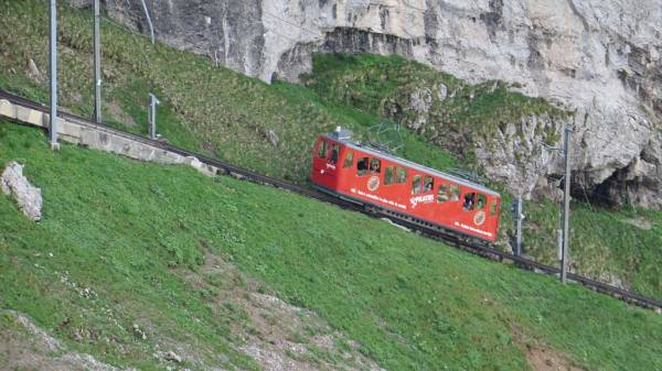 Switzerland Train Trip, Pilatus Cog Train