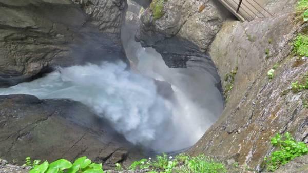 Switzerland Train Trip, Trummelbach Falls