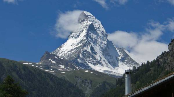 Switzerland Train Trip, Matterhorn, Zermatt