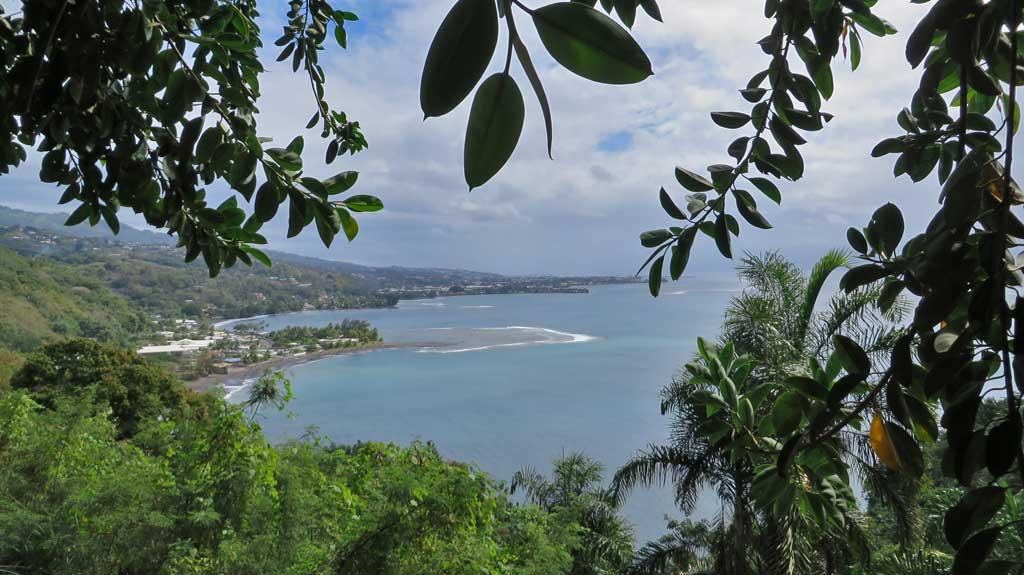 Taharaa Viewpoint, Tahiti Circle Island Tour