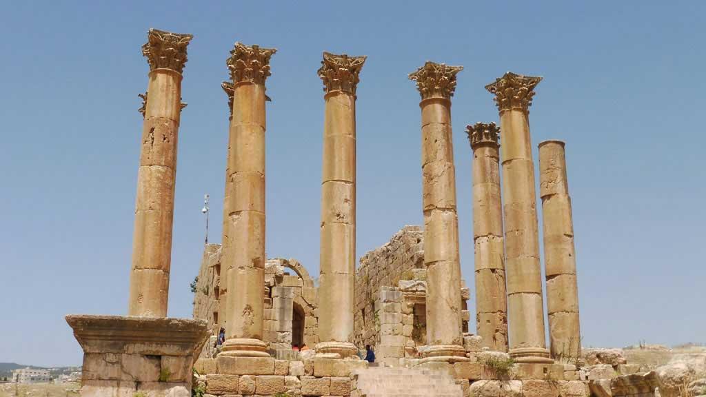 Temple of Artemis, Visit Jerash