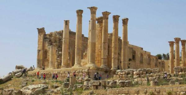Temple of Zeus, Visit Jerash