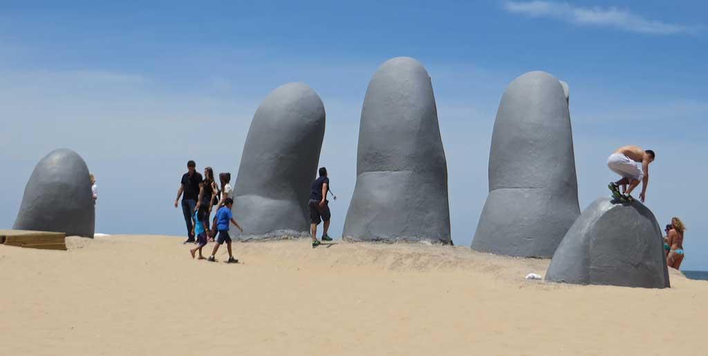 The Fingers, Punta del Este Shore Excursion