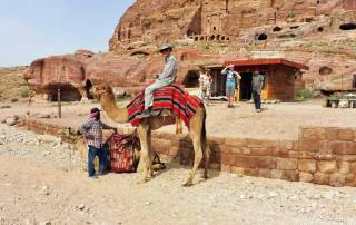 Tim's Camel Ride, Petra, Joran Tour