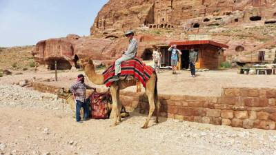 Tim' Camel Ride, Petra, Joran Tour