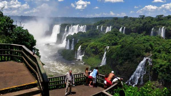 Tim, Iguaçu Falls Brazil Visit, Viewpoint Pathway