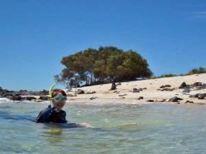 Tracie, Snorkel, San Cristobal Island, Galápagos Land Based Tour