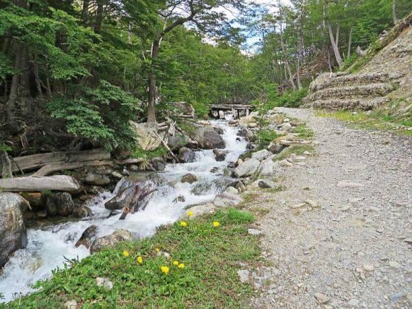 Trail to Martial Glacier, Martial Glacier Shore Excursion, Ushuaia