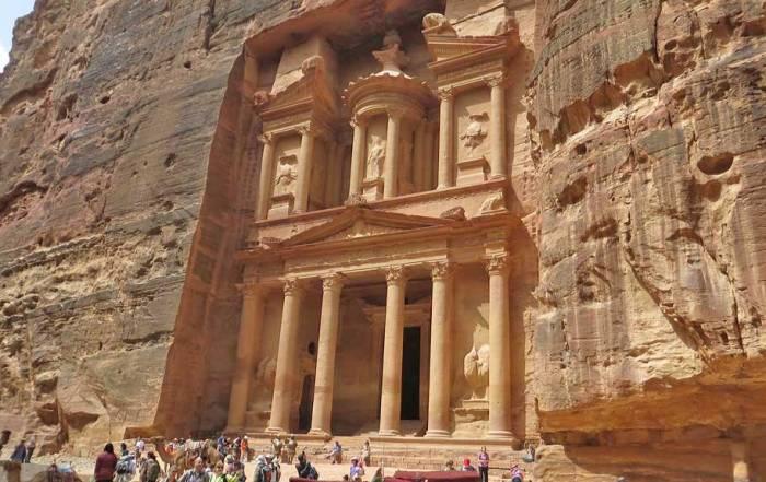 Treasury, Petra, Exodus Travels Jordan Tour