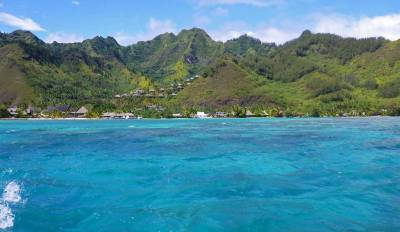 Turquoise Blue Seas, InterContinental Moorea