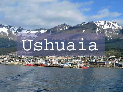 Ushuaia Title Page