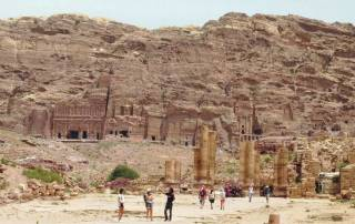 Visit Petra, Royal Tombs from Great Temple