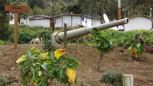 World War I Cannon, San Juan Bautista, Robinson Crusoe Island Shore Excursion