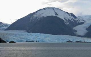 Amalia Glacier Approach, Chilean Fjords