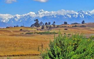 Andes near Chinchero Community Visit