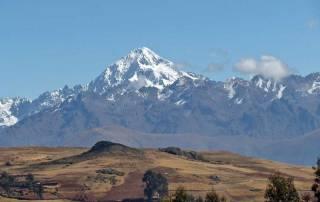 Andes near Moray Inca Ruins, Peru