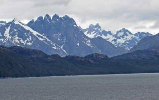 Approaching Amalia Glacier, Chilean Fjords