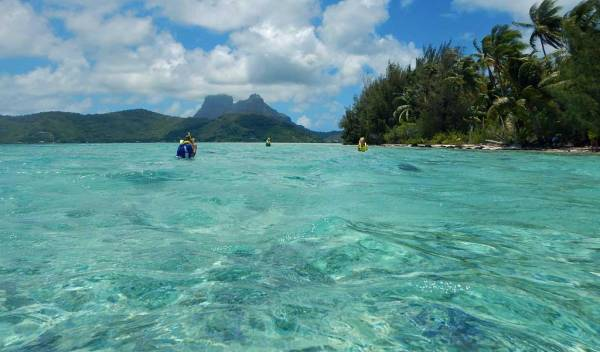 Bora Bora Shore Excursions, Snorkel