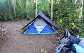 Camp Site, Tambopata River Expedition