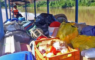 Camping Supplies, Tambopata River Expedition